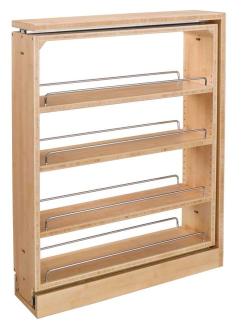 Spice rack pullout organizer