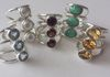 Triple Stacked Adjustable Rings