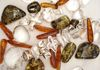 Quartz and Pearl with Amber Varieties