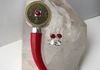 Eye-Grabbing Chinese Coin with Coral Pendant and Coral and White Quartz Earrings