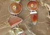 Beautiful set with Carnelian and Citrine
