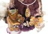 Rich Colored Red Creek Jaspers and Picture Jasper