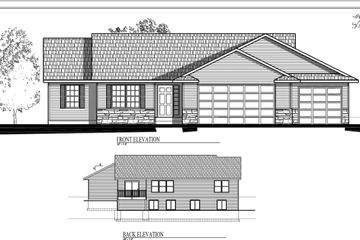 Ranch Floor Plan 3 Bed, 2 Bath 1446 square foot with unfinished basement  This home offers -Ceramic