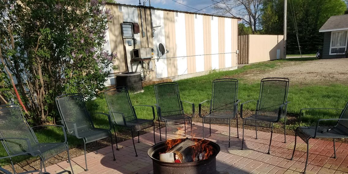 Firepit and BBQ Grills available for guest use.