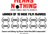 'Blood Means Nothing' Poster © Copyright Clever Little Films (UK)