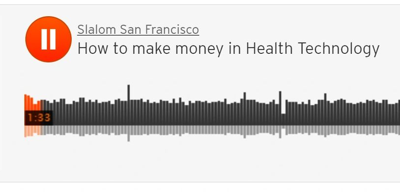 how to make money in health technology podcast, anne degheest