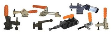 Toggle Clamps are a simple manual mechanism used for there high force to hold/clamp work pieces. We