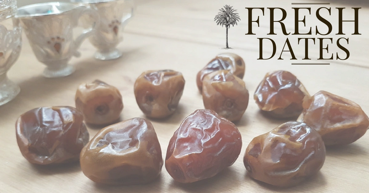 Fresh and Medjool Dates