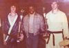 Ricky Smith, Howard Jackson (PKA World Kickboxing Champion), Gary Basinger - 1976 Battle of Atlanta