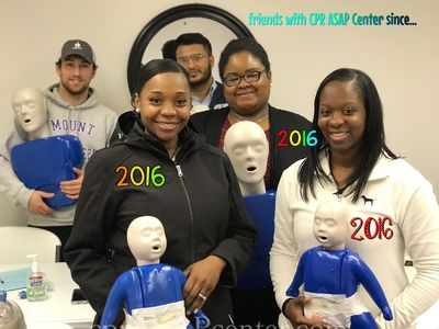 October 2018 CPR in Columbia, SC. These ladies have been friends with us since 2016.
