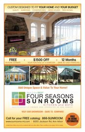 Four Seasons Sunroom Kitchen and Bath coupon