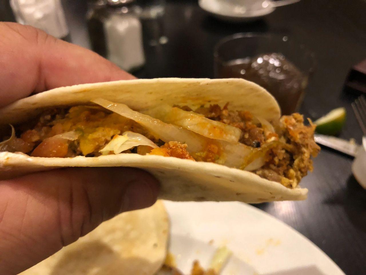 Breakfast tacos at Ellen's in Dallas