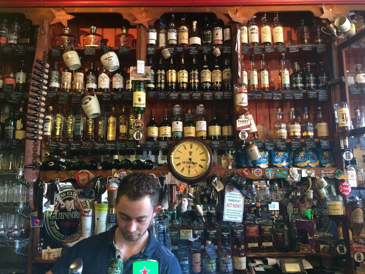 Dick Mack's pub in Ireland offers great whiskey