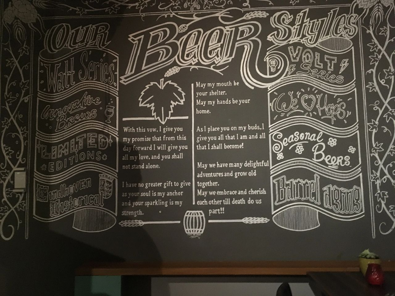 Great beer, cool riverside location and tributes to the city's history of innovation at Stadsbrowerij Eindhoven.
