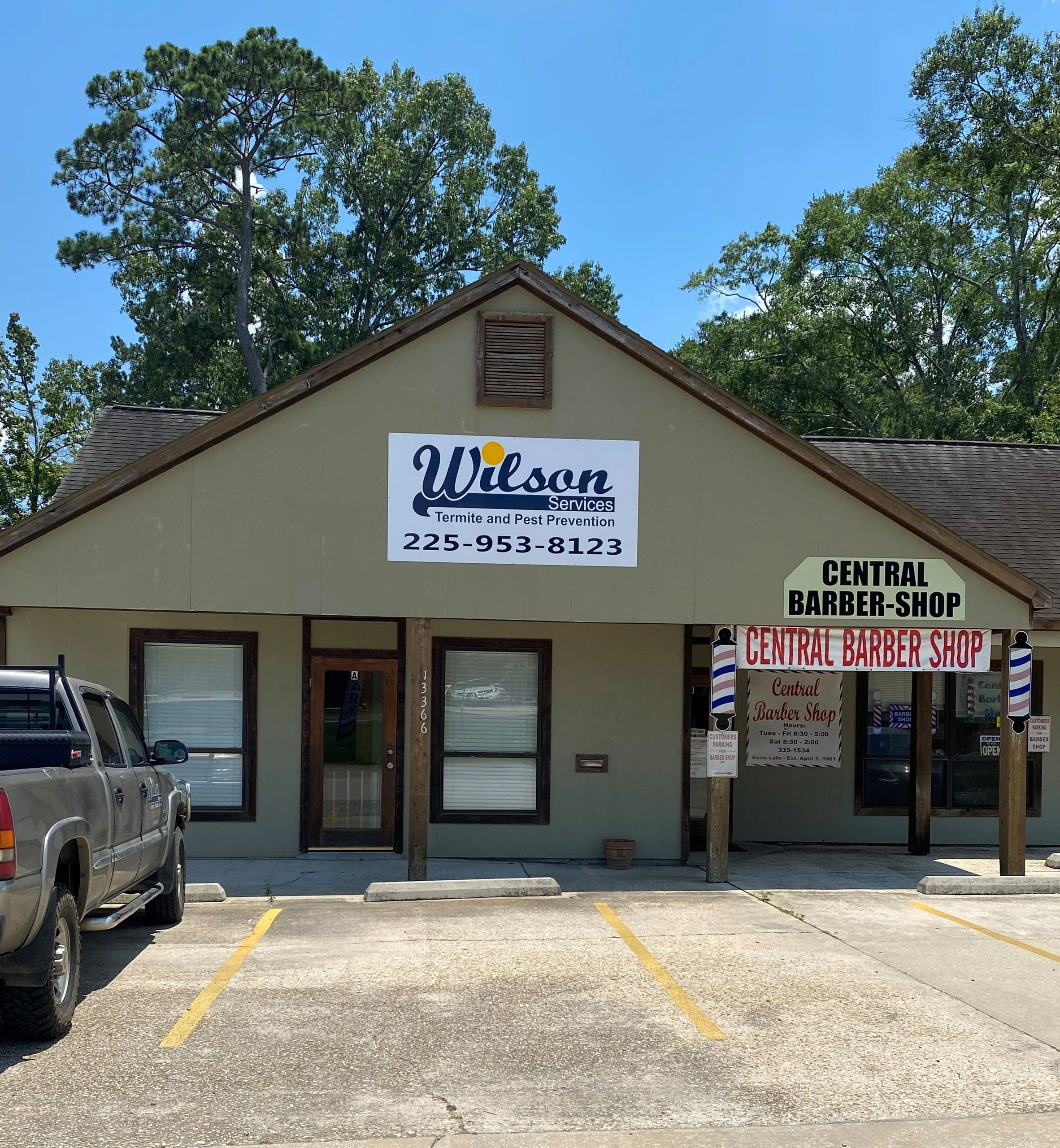 Wilson Services is located at 13366 Hooper Road, Baton Rouge, LA 70818