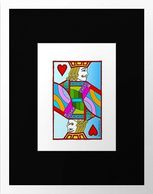 Eliot Raffit Art to View Wall Art Jack of Hearts