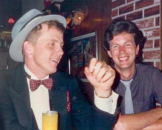 Bob S. with Friend harry Anderson