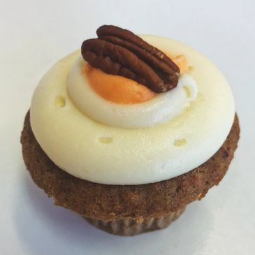 carrot spice cupcakes