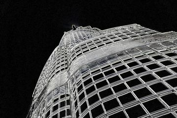 Corporate gifts of Dubai  photographic prints  are available of Burj Khalifa by Charlotte Simpson
