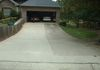 Driveway After Drying Comparison