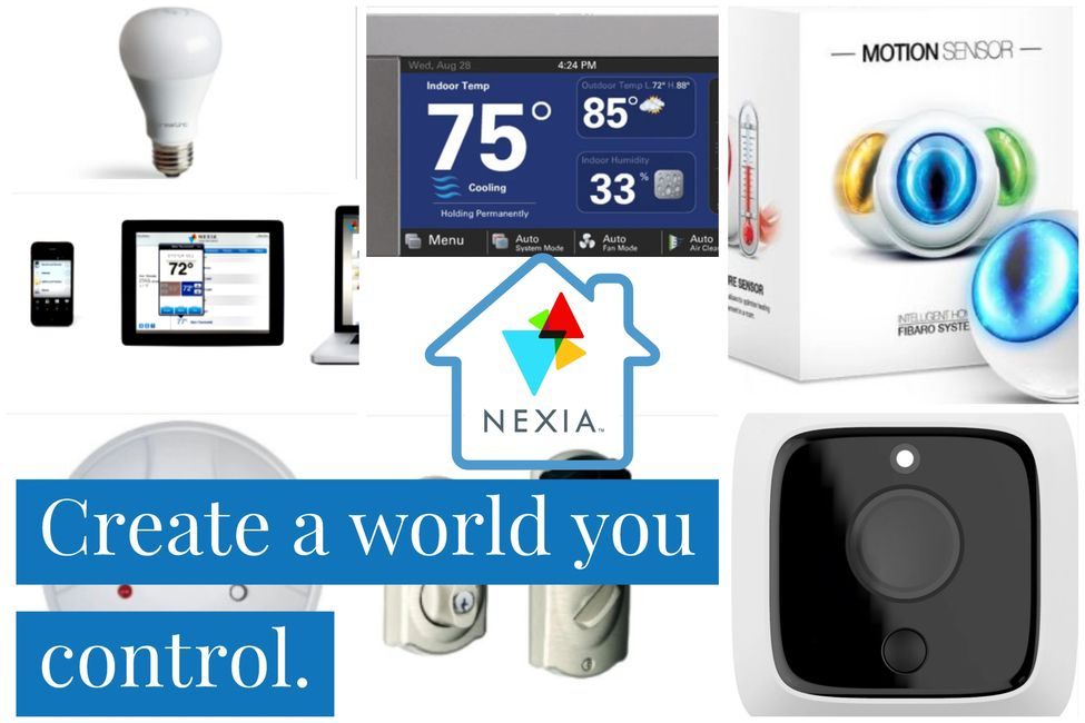 Nexia, home security, home automation, home safety, home peace of mind.