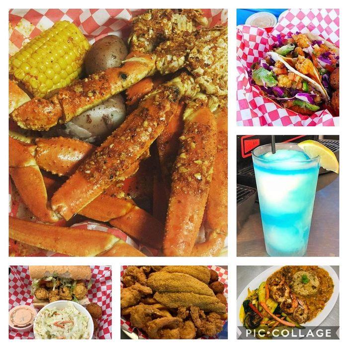 The Catch Houston Seafood Restaurant Cajun