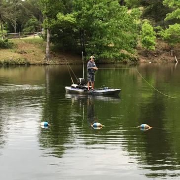 Gatewood Park, Campground & Reservoir - Campground, Paddlesports