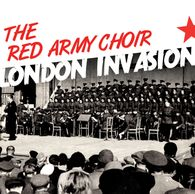 The Red Army Choir on stage in London during 60's