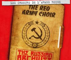 Russian Archives, with communist symbol, compilation of Red Army Choir rares tracks produced by FGL