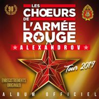 Official Album of Red Army Choir Tour produced by Thierry WOLF fo FGL Productions