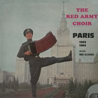 The Red Army Choir, Paris 1963-1964, cult album of the famous russian choir