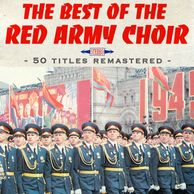 L'Armée Rouge défile sur la place rouge, cover du Best of Red Army Choir produit par Thierry Wolf