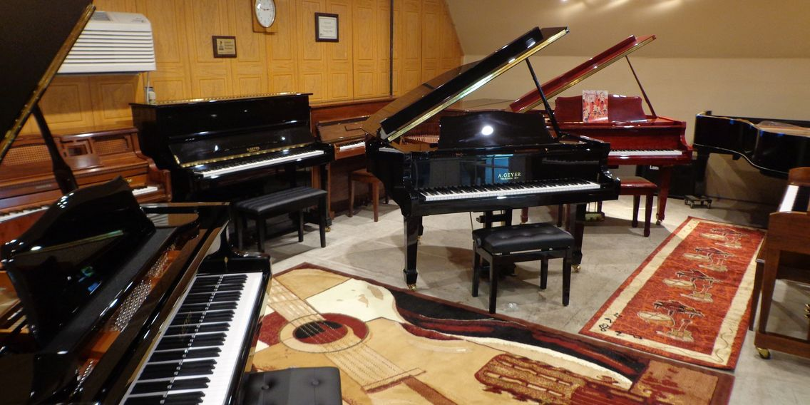 new and used piano