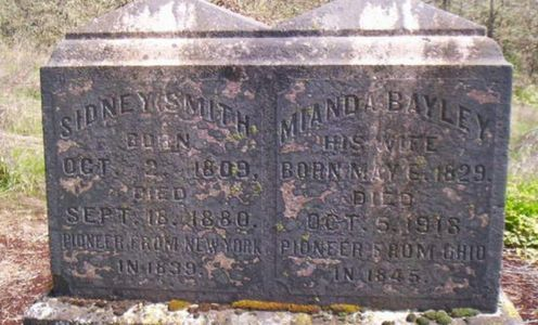 Mianda and Sidney are buried in Lafayette.