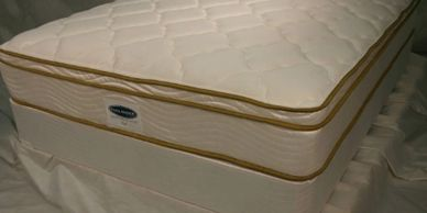2in pillow-top mattress