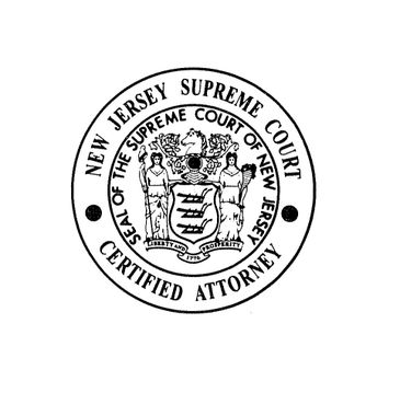 THE ONLY ATTORNEY SO CERTIFIED WITH OFFICES IN JERSEY CITY