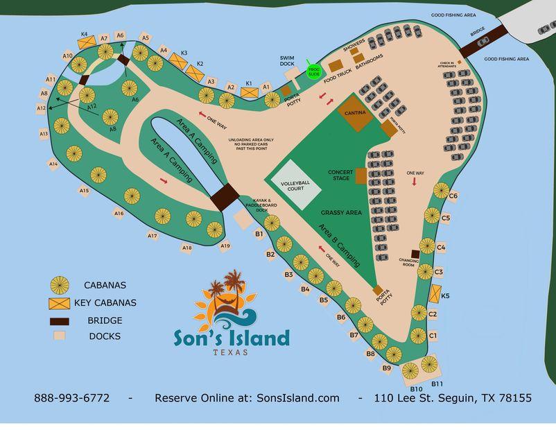 Island Map | Son\'s Island