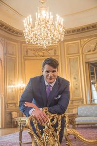 Perry Belmont House's Lawrence Von Weigel is out to throw the most lavish parties in DC.