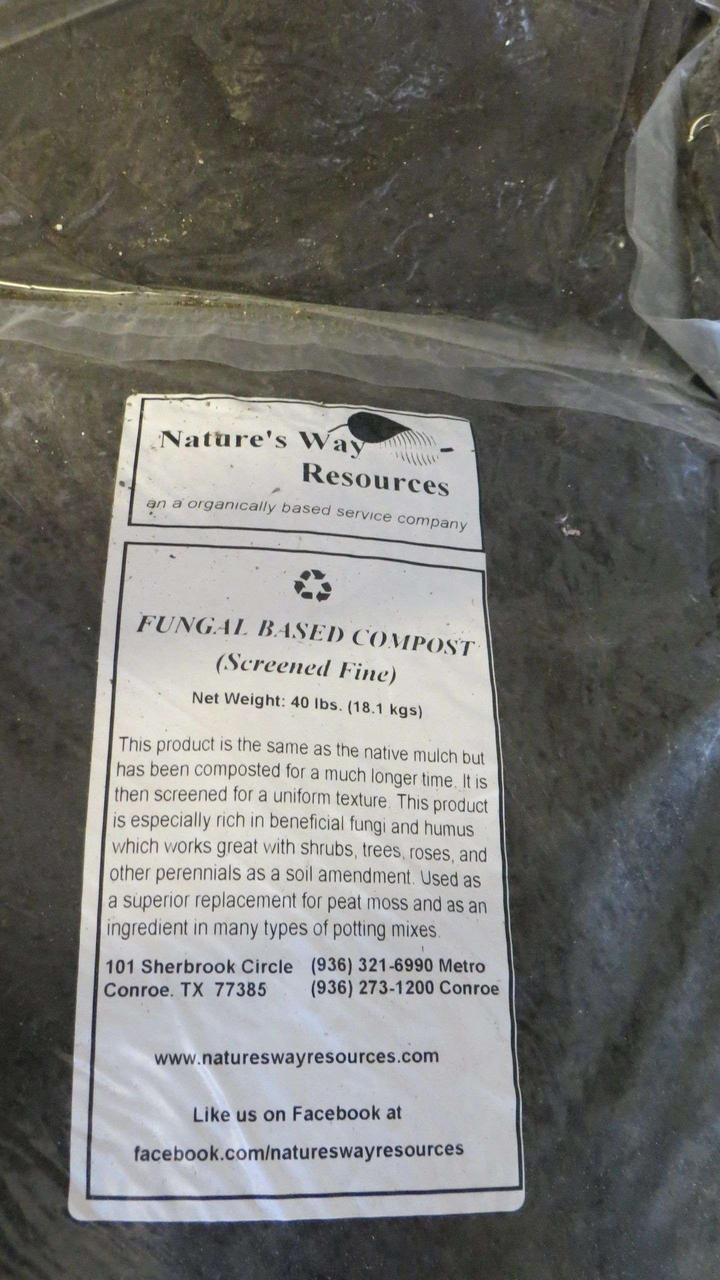For The Organic Nerds in Dallas or Houston, Tx area. who want Fungal compost :
