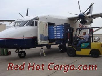 Our private cargo plane