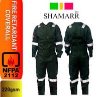 FIRE RETARDANT WORKING COVERALL FOR OIL & GAS AND MARINE