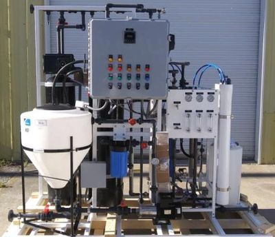 Configurable Water Purification - Complete Filtration System for Distillery