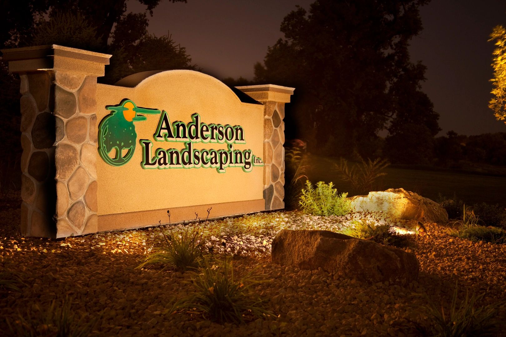 Landscape Lighting Sioux Falls