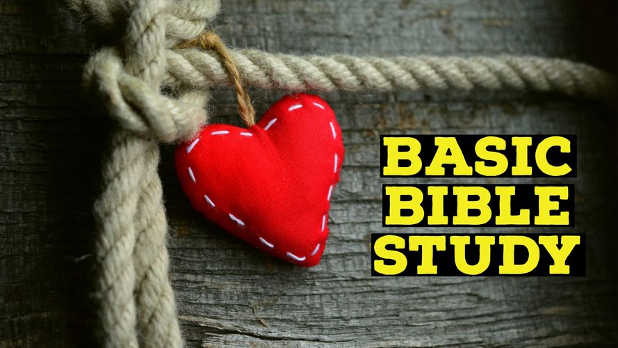 Basic Bible Study guides those new & curious about the Bible in a simple manner.