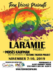 Teen Voices DFW The Laramie Project