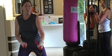 Jane at Oasis Training Group Fitness Classes