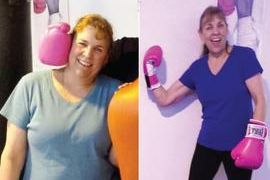 Tracy Parsons dedicated to her fitness attending personal training and group fitness for weight loss