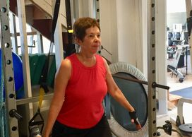 Patricia Gray Personal Training Client Group Fitness Oasis Training