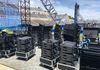 2018 Air Force Academy Graduation - L-Acoustics K2 and Kara prepared to fly