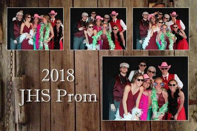 Photo Booth Template for High School Prom